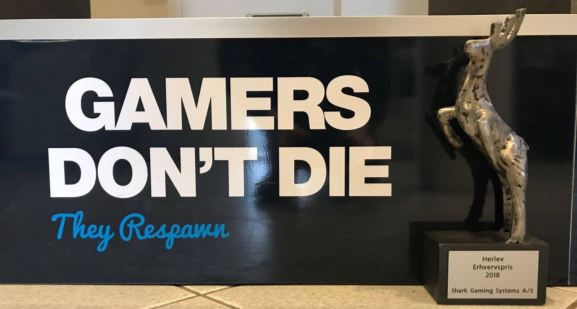 Shark Gaming Herlev Erhvervspris 2018