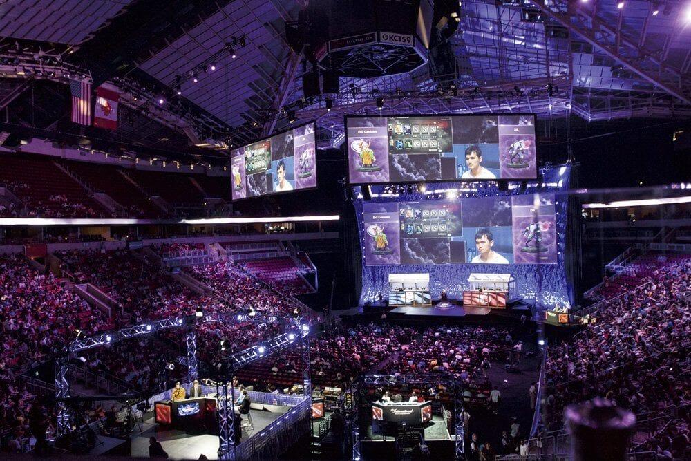 Korean Esports Association event DOTA