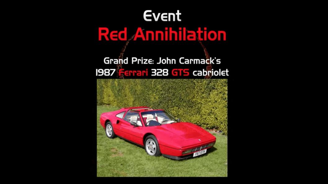 The winner got a Ferrari