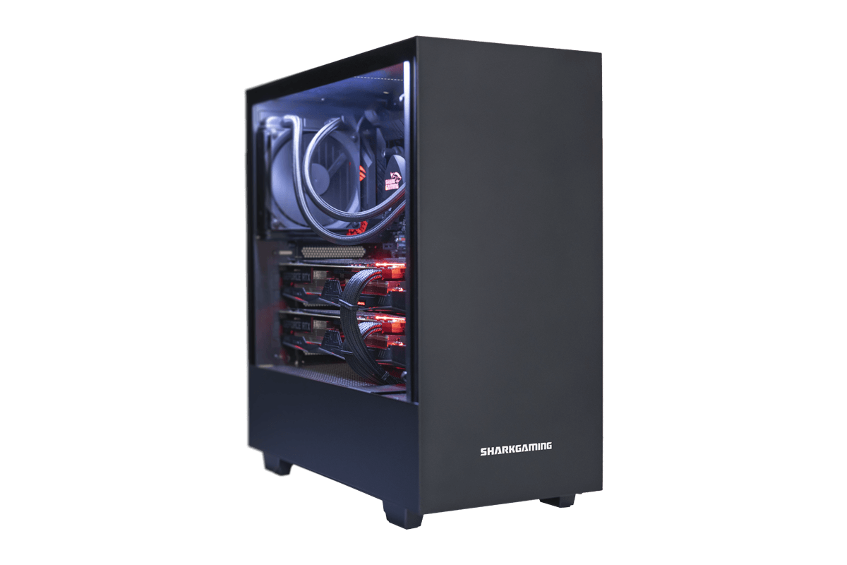 Mighty Shark Bloodlust Gaming PC