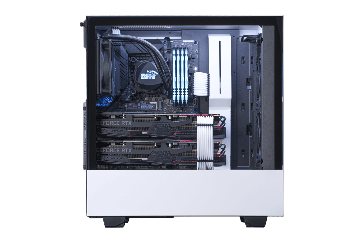 Great White Shark AMD Gaming PC