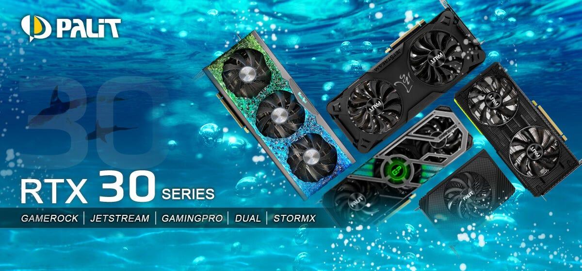 Palit RTX 30 series