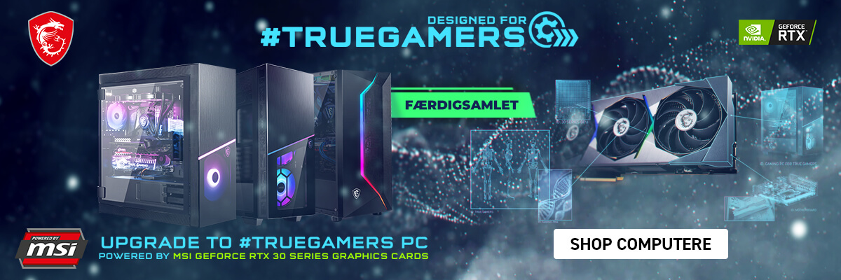 Færdigsamlet MSI Gaming PC