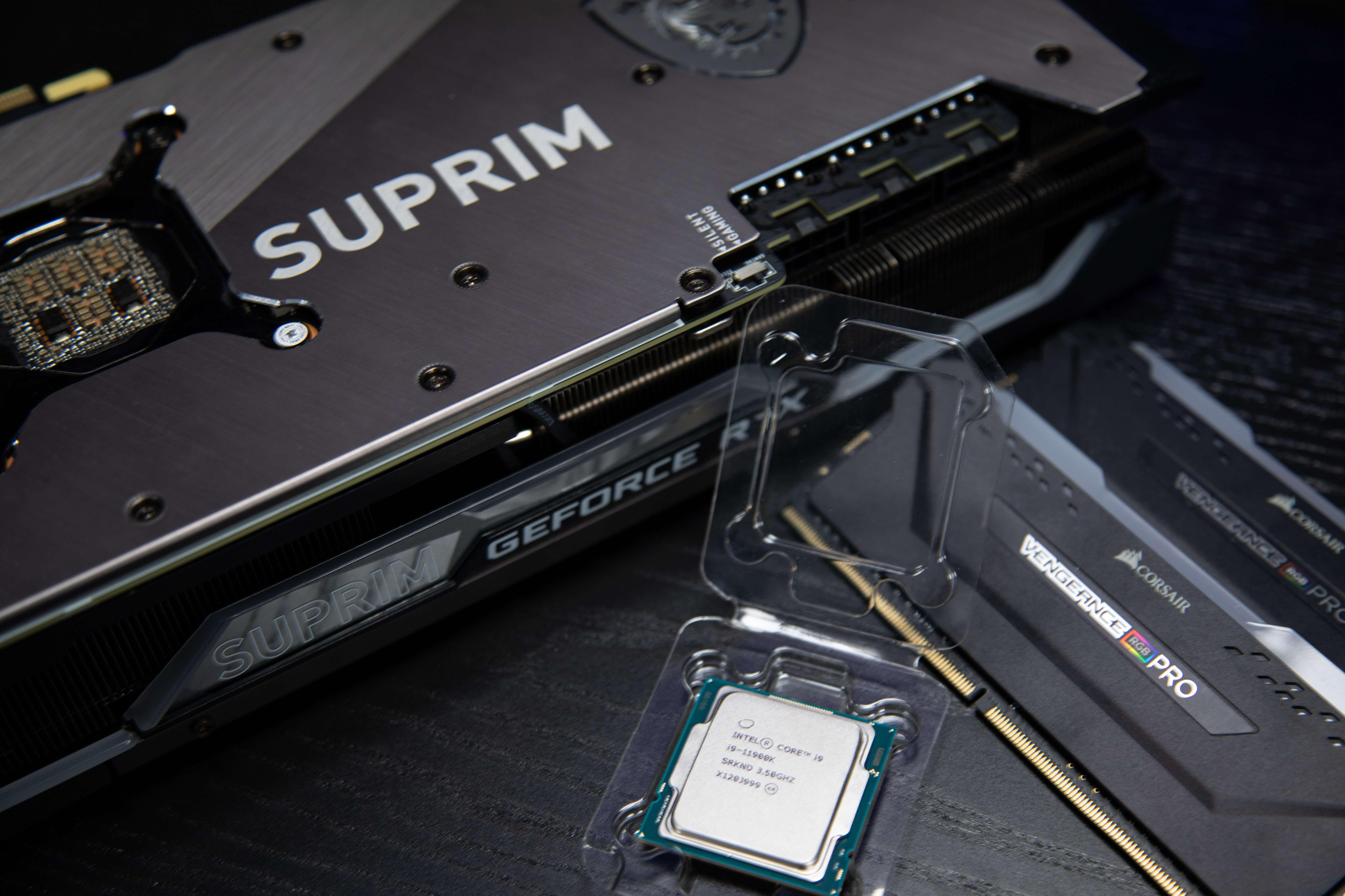 GPU, CPU og RAM