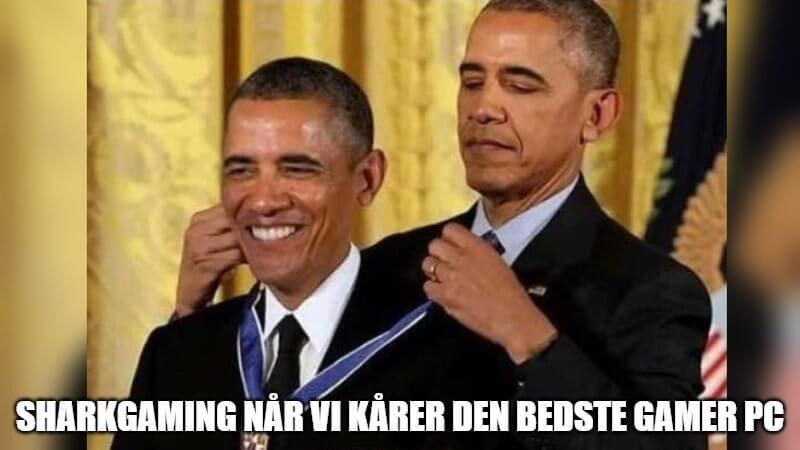 Obama awarding Obama