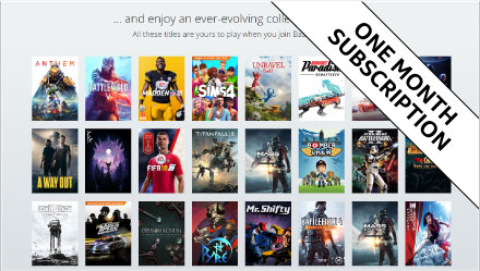 One month subscription - ORIGIN ACCESS