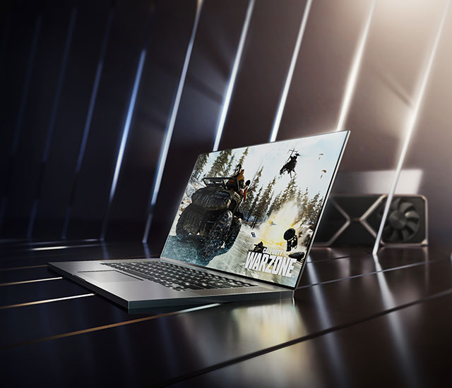 GEFORCE RTX™ 30 SERIES LAPTOPS - THE ULTIMATE PLAY